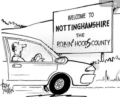 crime levels cartoon