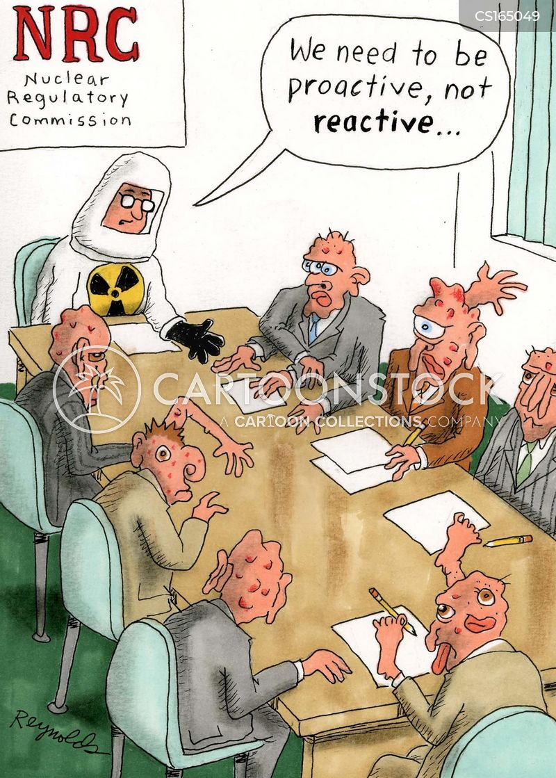 radiation poison cartoon