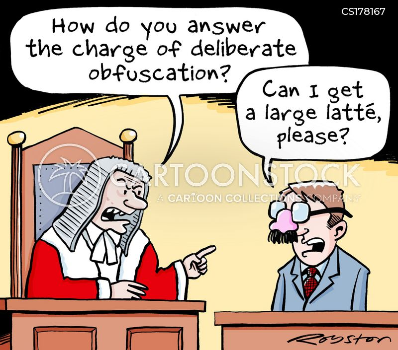 obfuscation cartoon