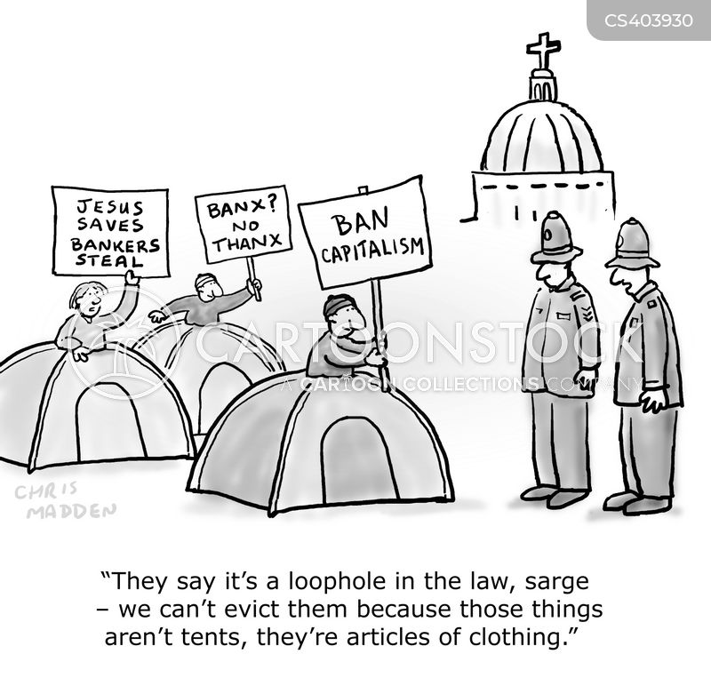 evictions cartoon