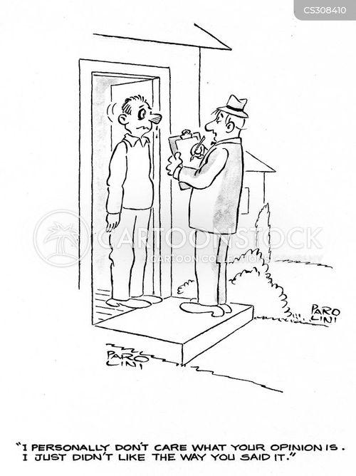 surveyed cartoon