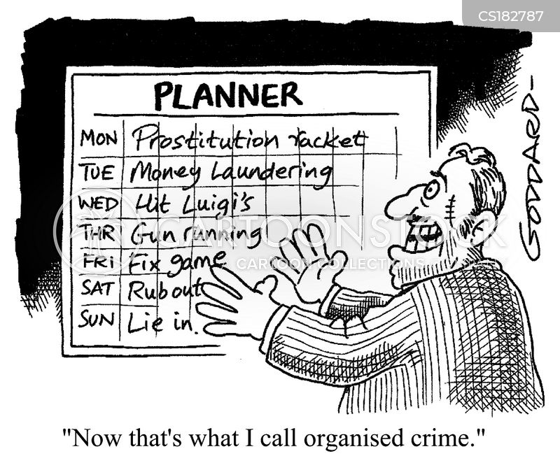 planner cartoon