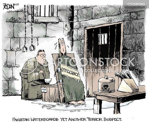 terrorist suspects cartoon