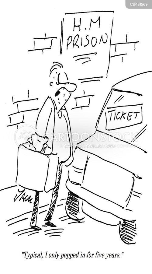 parking officers cartoon