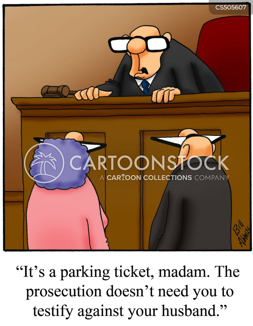 testified cartoon