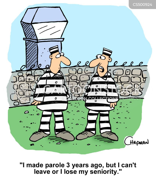 parole service cartoon
