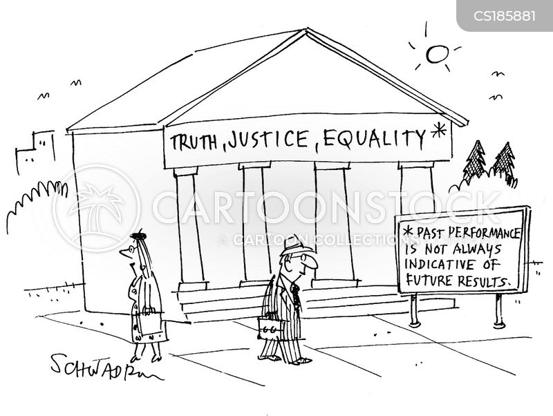 judicial system cartoon