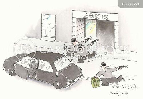 getaway vehicle cartoon