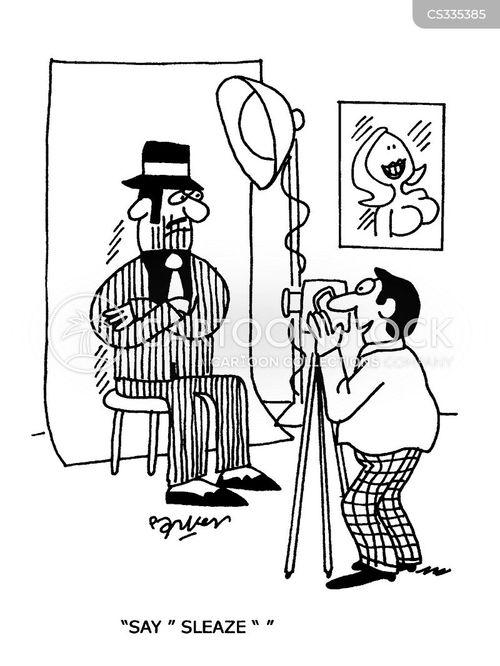 taking photos cartoon