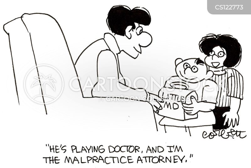 playing doctors cartoon