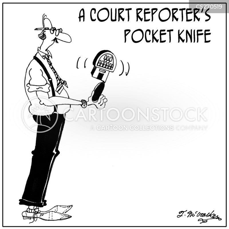 pocket knife cartoon