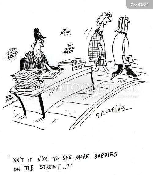 policing budget cartoon