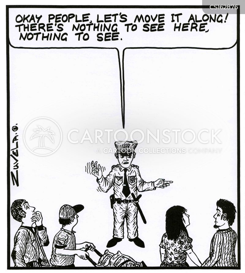 nothing to see cartoon