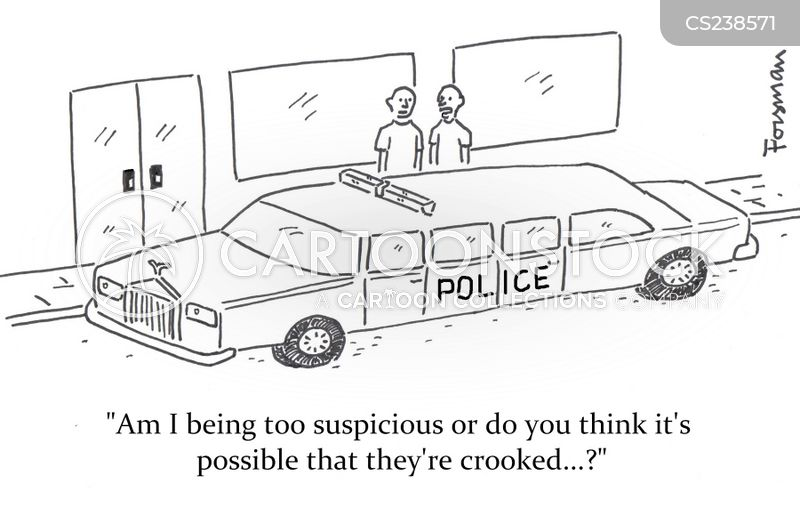 suspecting cartoon