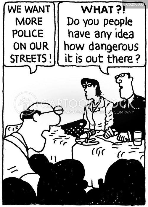 commissioner cartoon