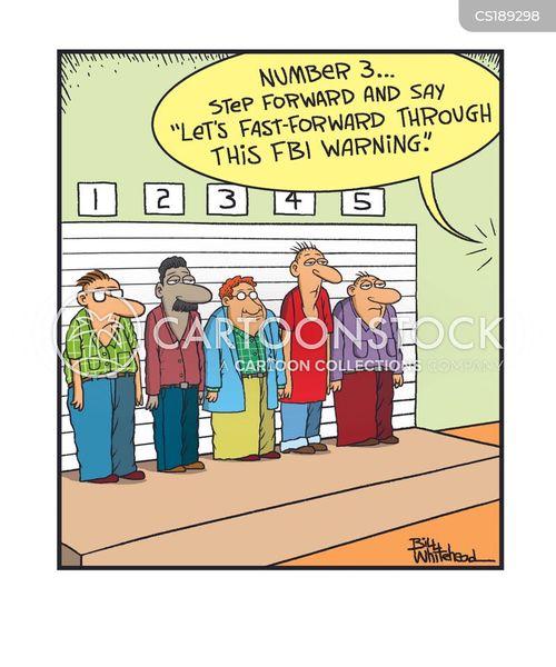federal bureau of investigation cartoon