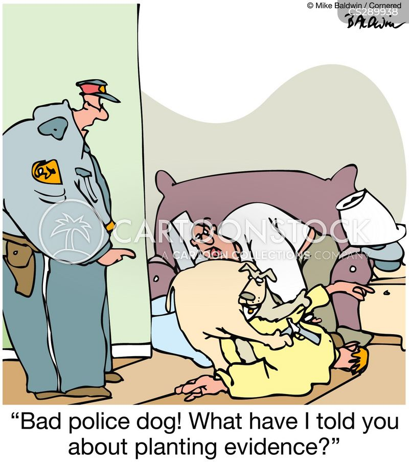 police raids cartoon