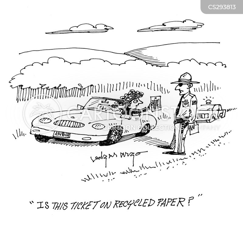 police forces cartoon