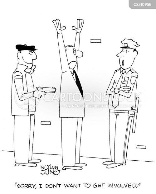 on duty cartoon