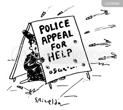 keeping the peace cartoon