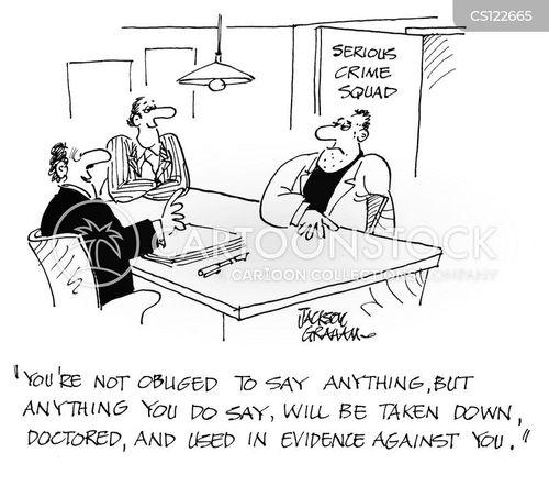 serious crime squad cartoon