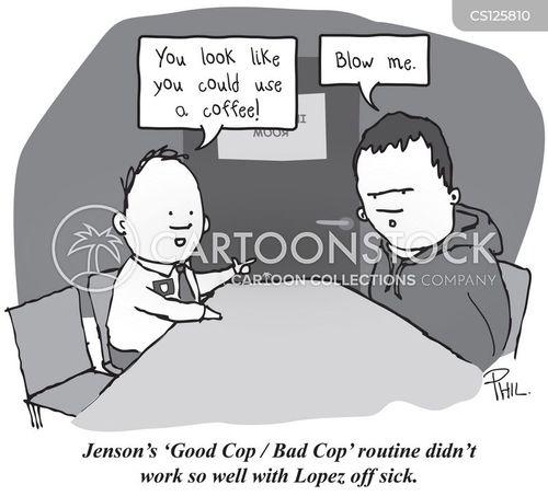 police interviews cartoon