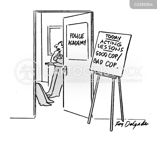 police academies cartoon