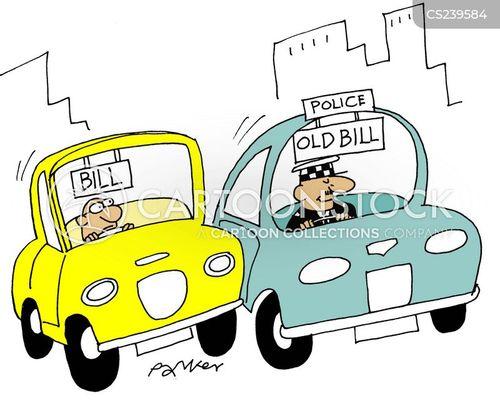 old bill cartoon