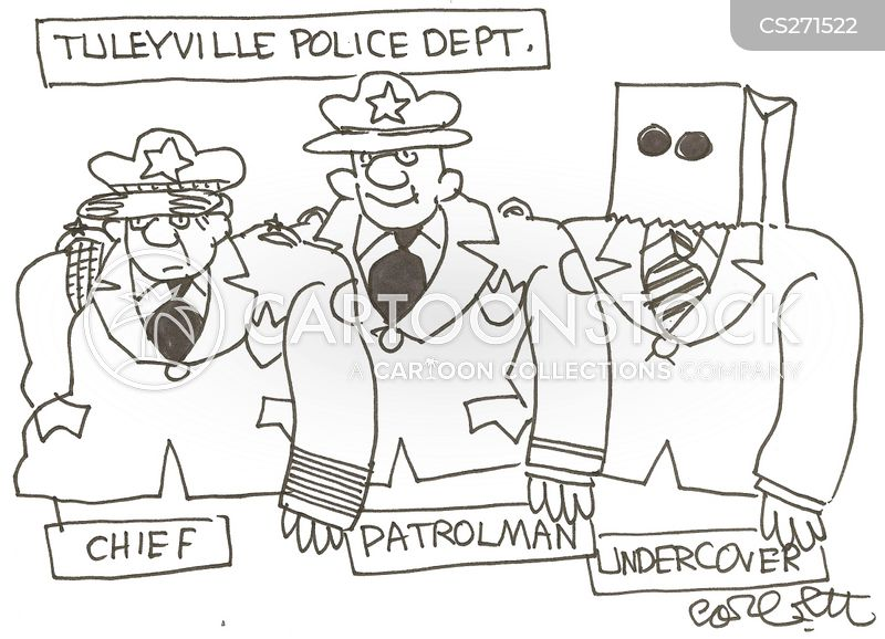 undercover cops cartoon