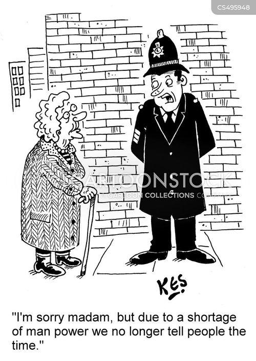 manpower shortage cartoon