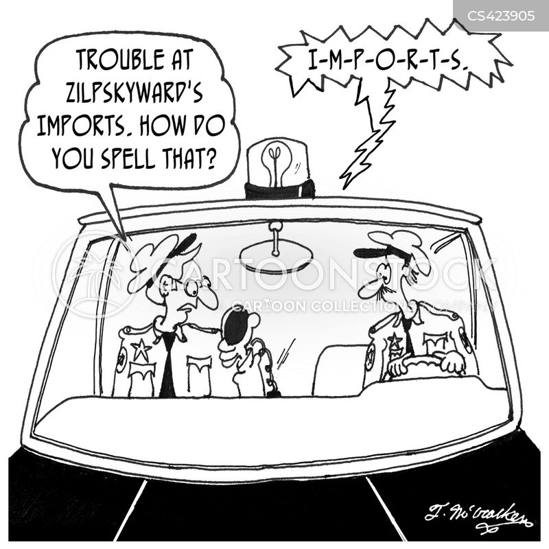police patrols cartoon