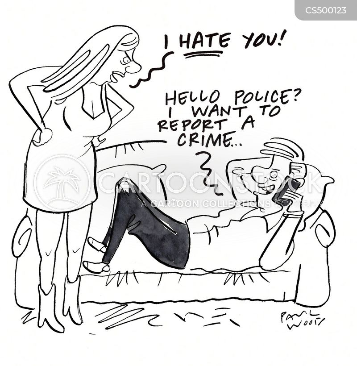 abusive relationship cartoon