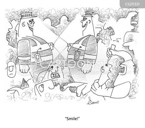 rioter cartoon