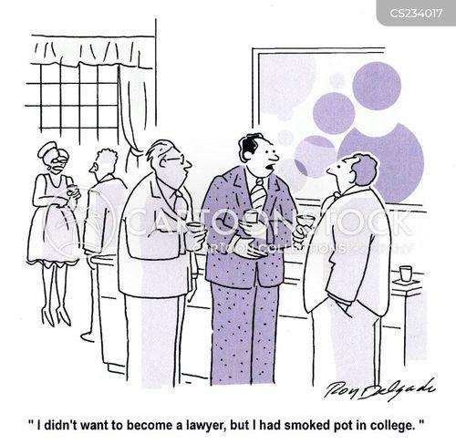pot smoker cartoon