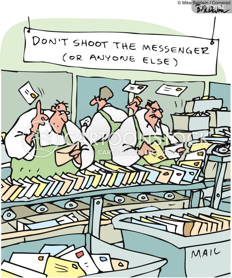 postmen cartoon