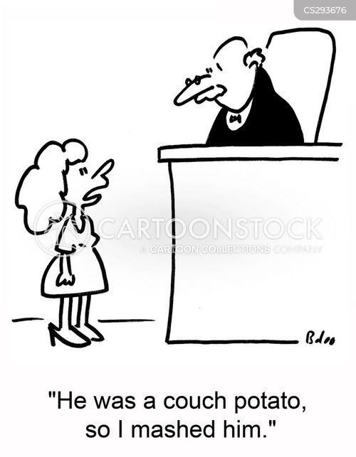 mashed potatoes cartoon