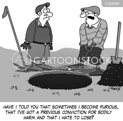 bad sportsmanship cartoon