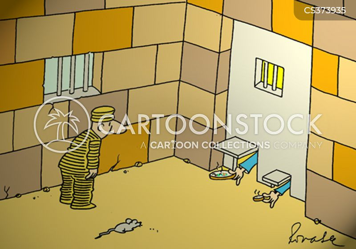 prision cartoon