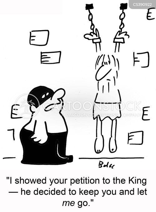 royal pardon cartoon