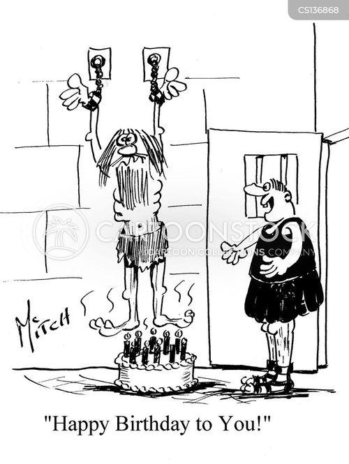 gaolers cartoon