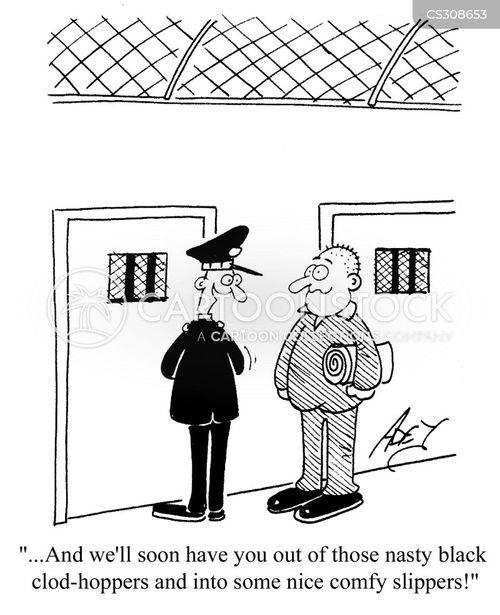 jail terms cartoon
