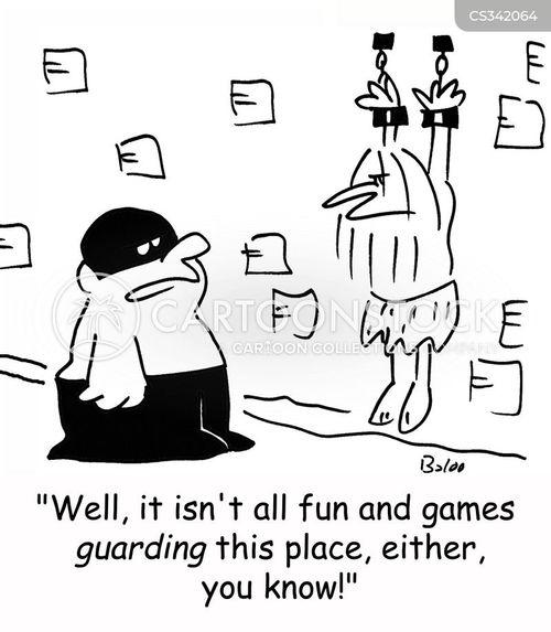 fun and games cartoon