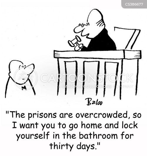 prison overcrowding cartoon