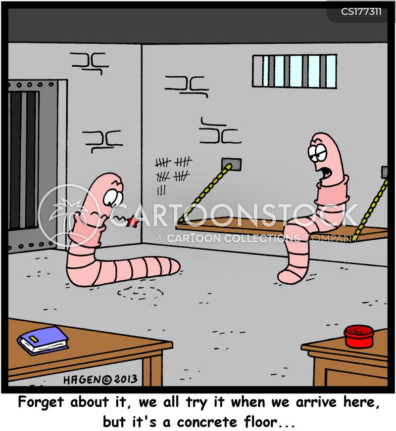 escape plan cartoon