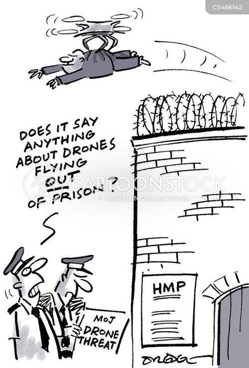 prison officers cartoon