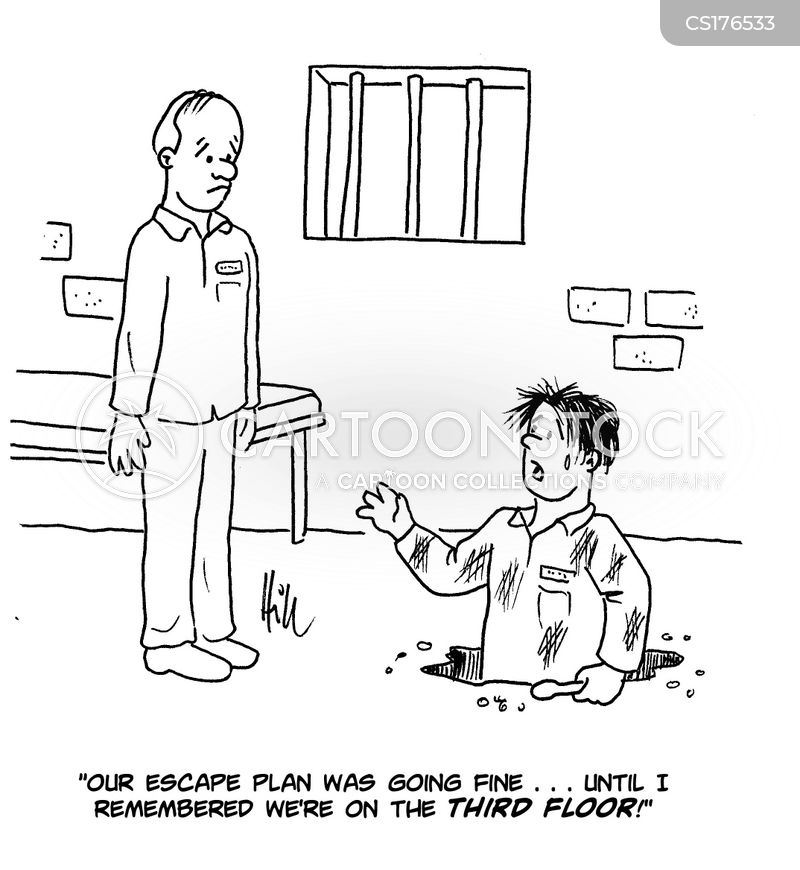 Escape Plans cartoons, Escape Plans cartoon, funny, Escape Plans picture, Escape Plans pictures, Escape Plans image, Escape Plans images, Escape Plans illustration, Escape Plans illustrations