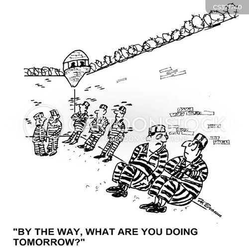 prison inmates cartoon