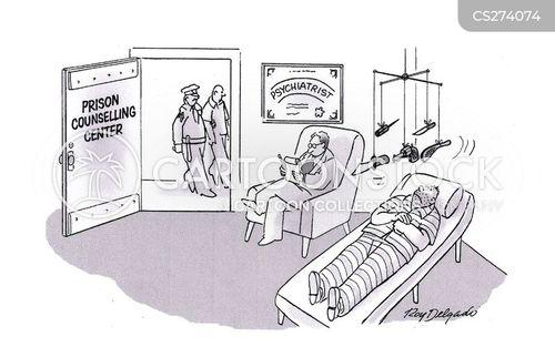 prison service cartoon