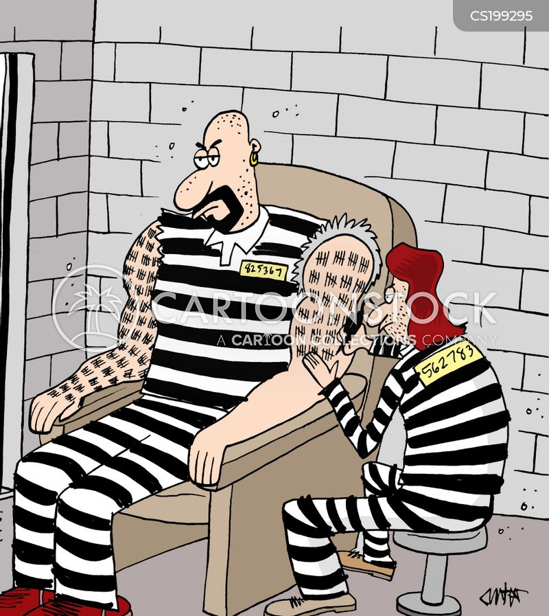 prison time cartoon