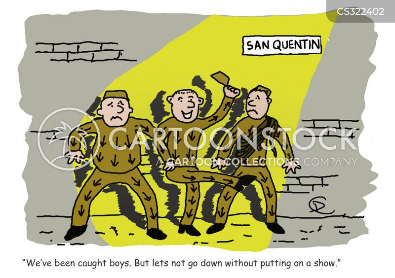 san quentin cartoon